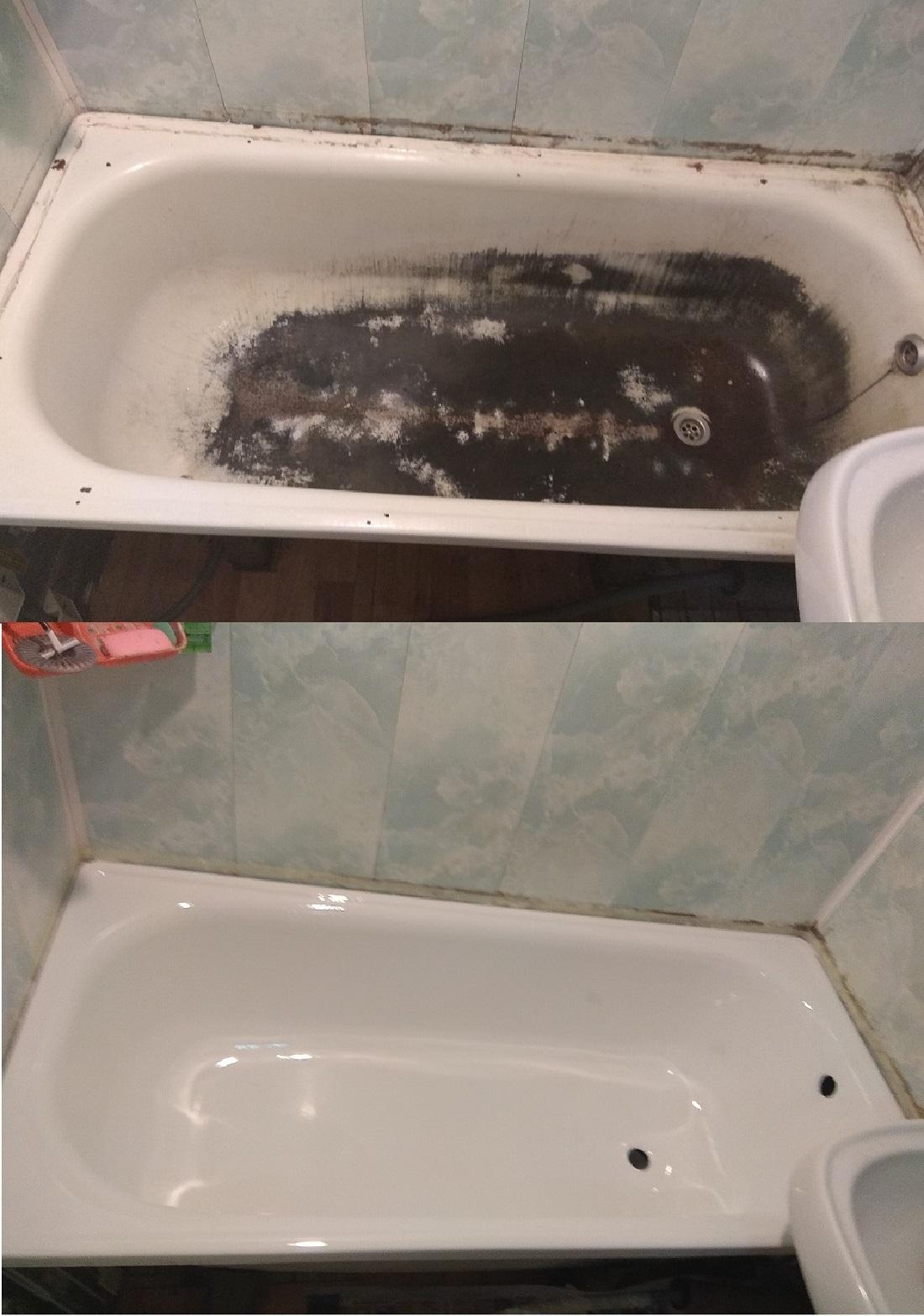 Реставрация ванн акрилом в Москве