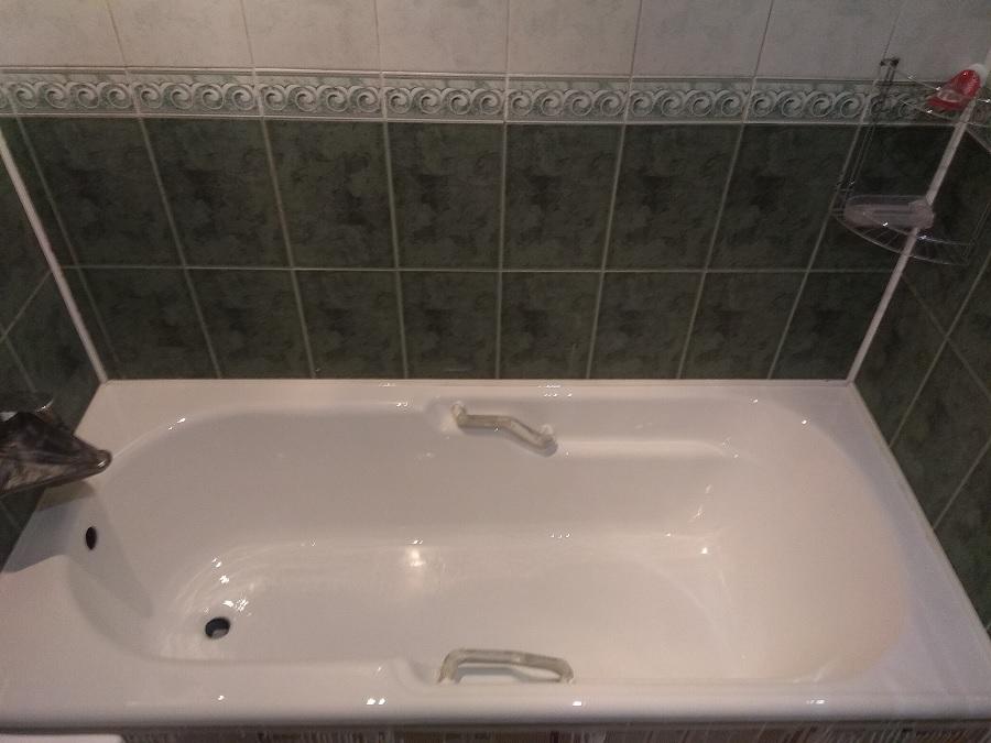 Реставрация ванны литьевым мрамором