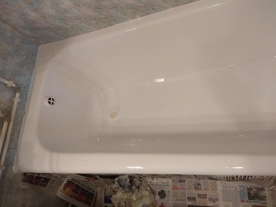 Реставрация ванны на стакан