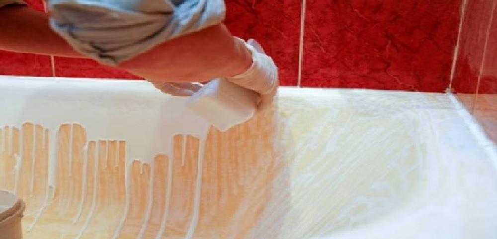 Покрытие ванн жидким акрилом